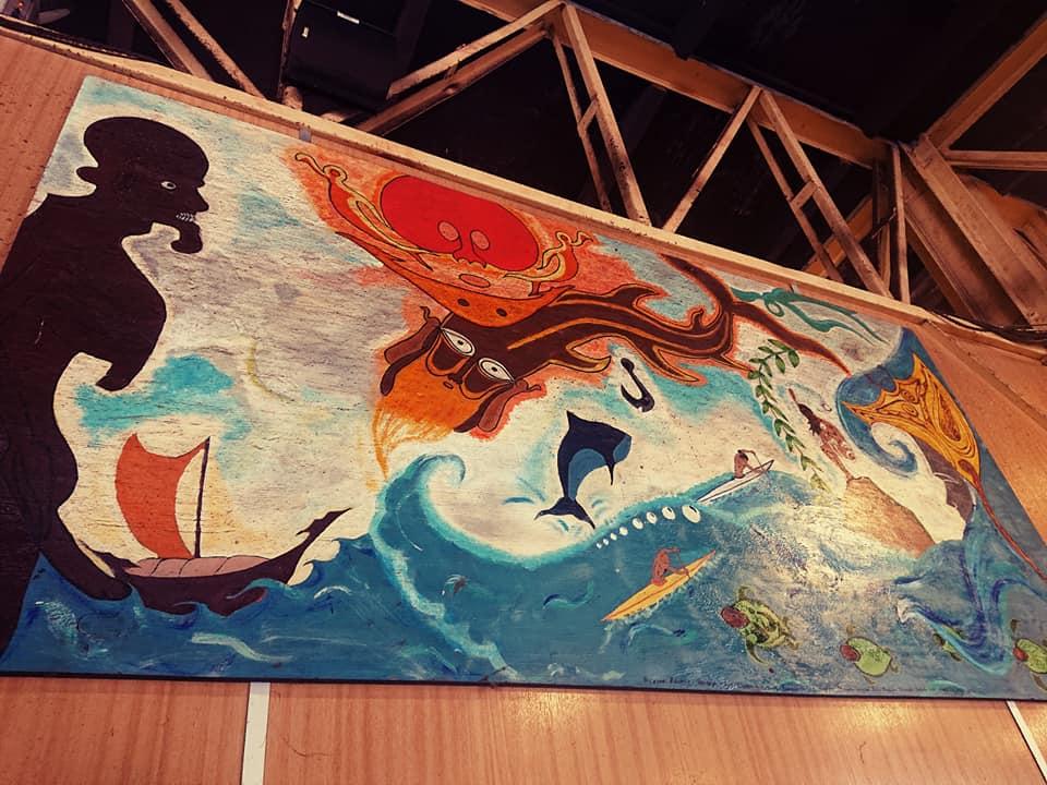 Polynesian painting